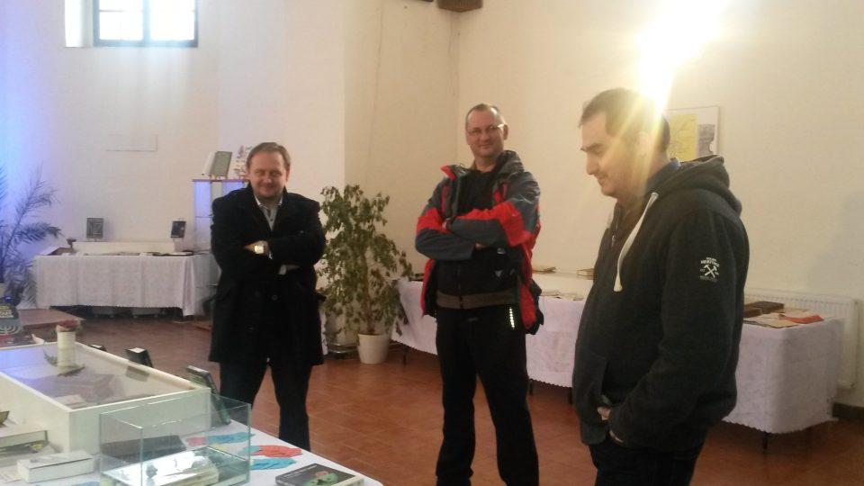 Jiří Hamrozi, Peter Staňo a Petr Hamrozi
