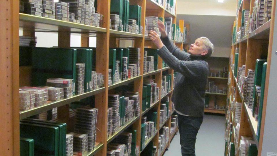 Blanka v archívu