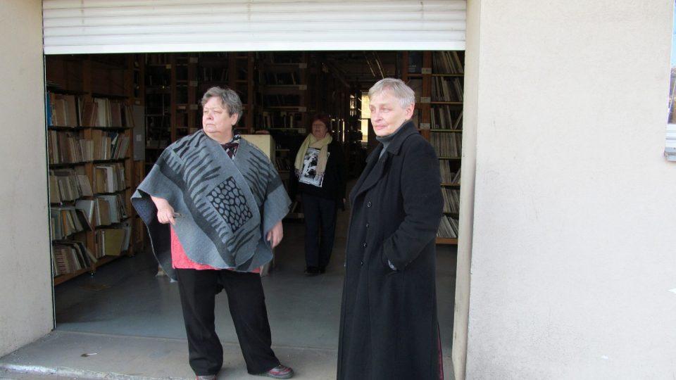 Do zvukové knihovny se dostanete i zezadu, od Ostravice