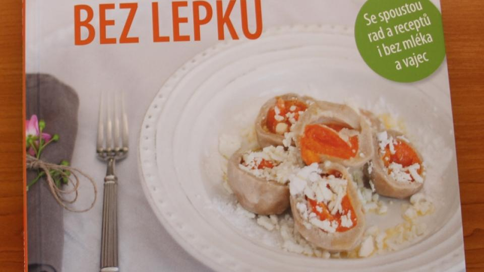 Obálka knihy Radčina kuchařka bez lepku, kterou vydalo nakladatelství Grada
