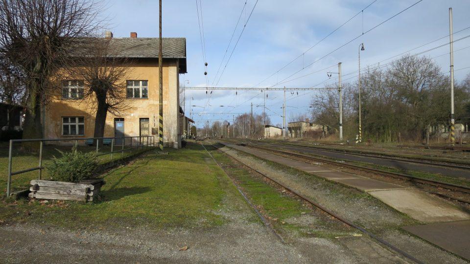 Nejvýše položená železniční stanice na trase Praha - Vídeň