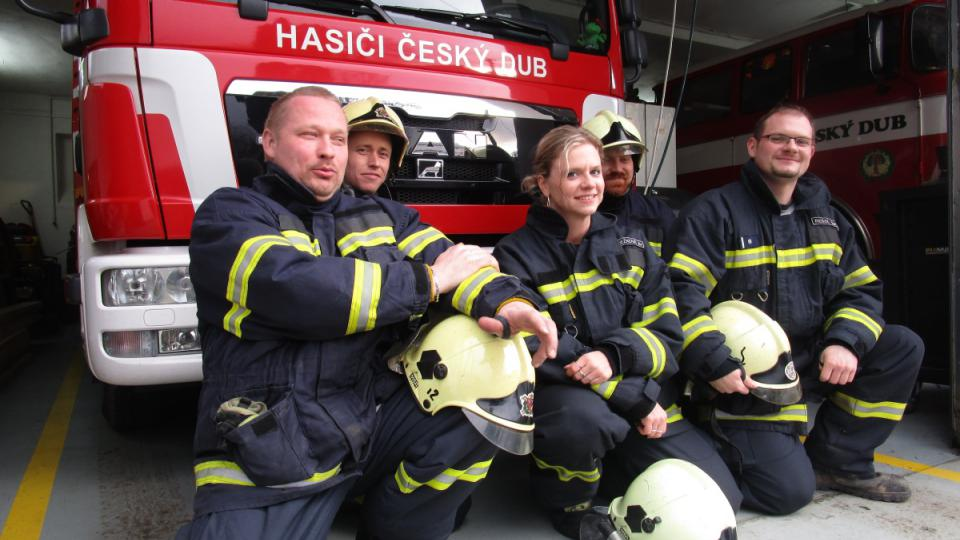 Hasiči z Českého Dubu