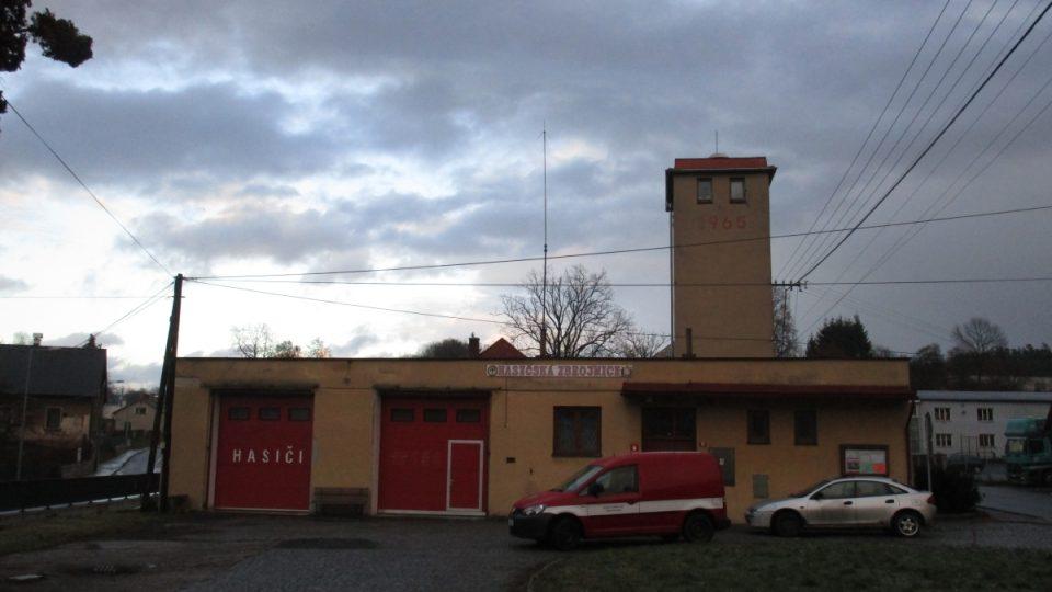 Hasičárna českodubských požárníků