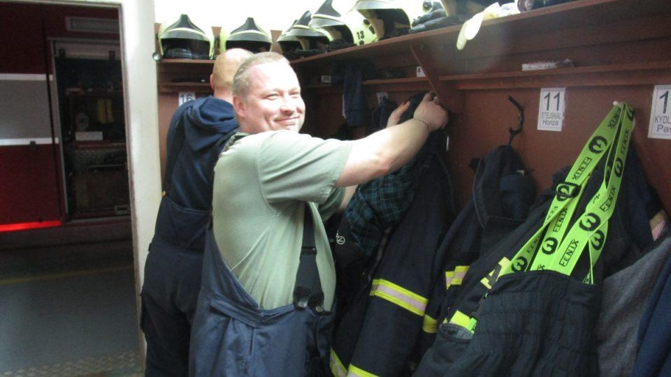 Šatny hasičů