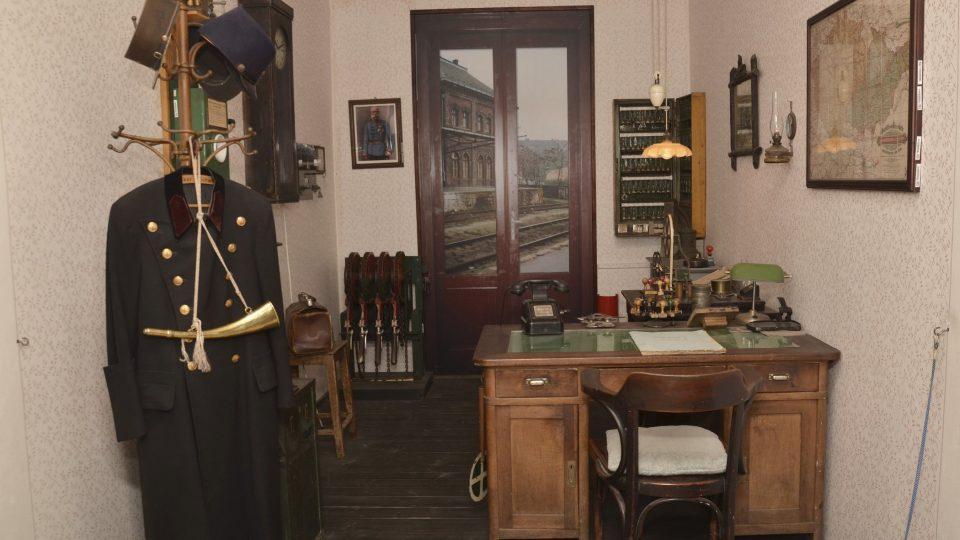 Dopravní kancelář z doby první republiky