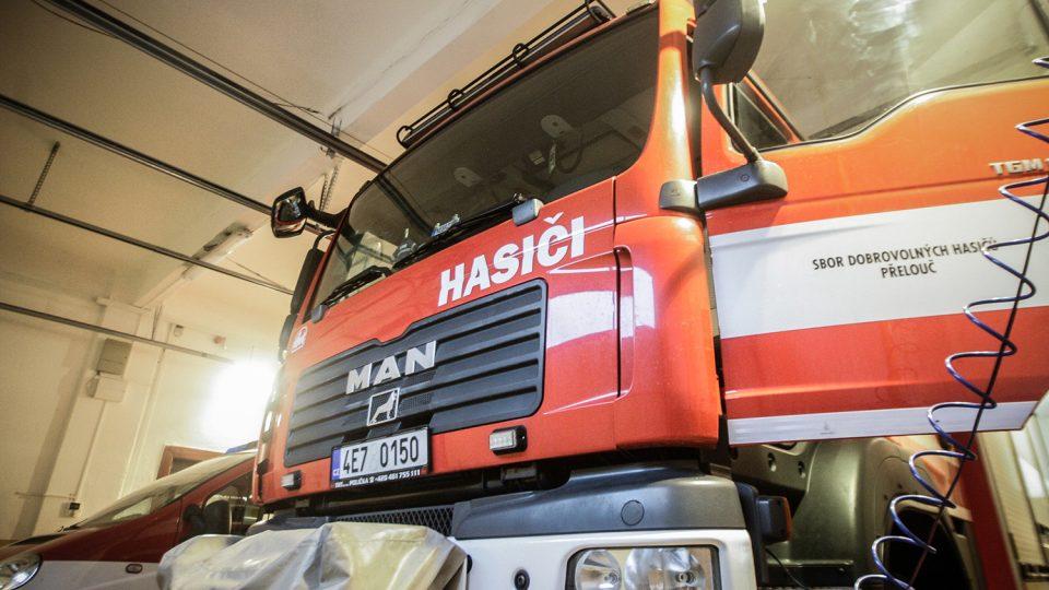 Od roku 2012 mají hasiči nové vozidlo MAN CAS 20 - M2R