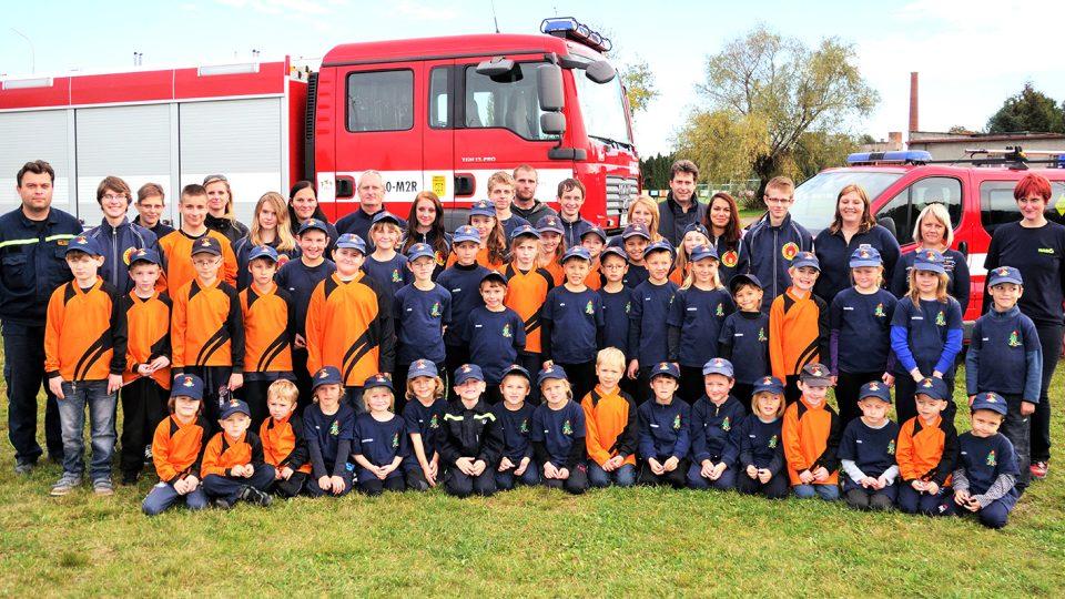 Přeloučský sbor má na pět desítek malých a mladých hasičů