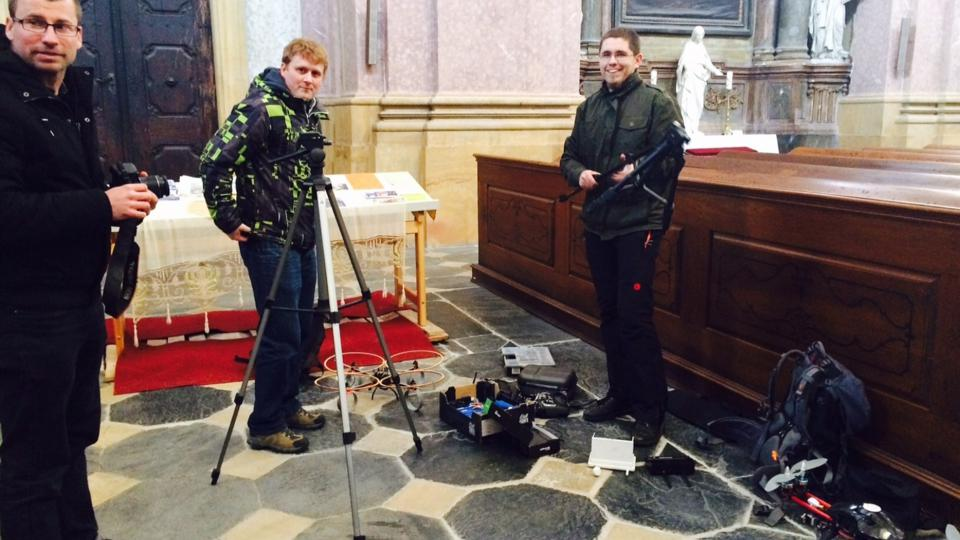Památkářům na Olomoucku pomáhá dron
