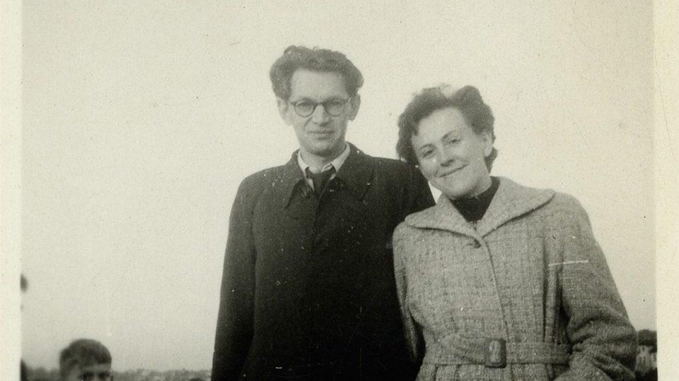 S první ženou Alenou Hájkovou