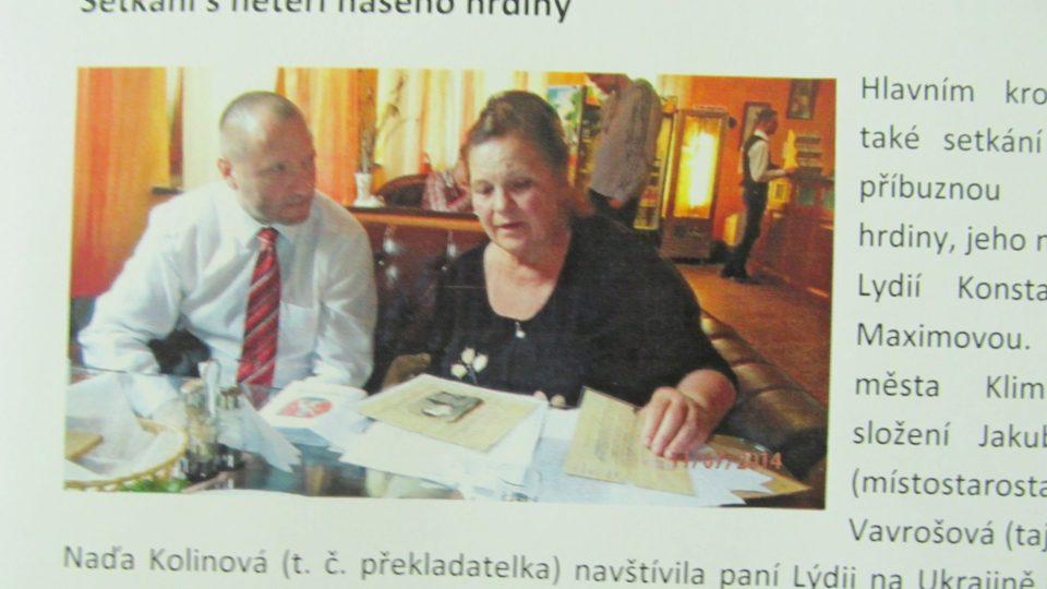 Lýdie Maximova a Jakub Unucka