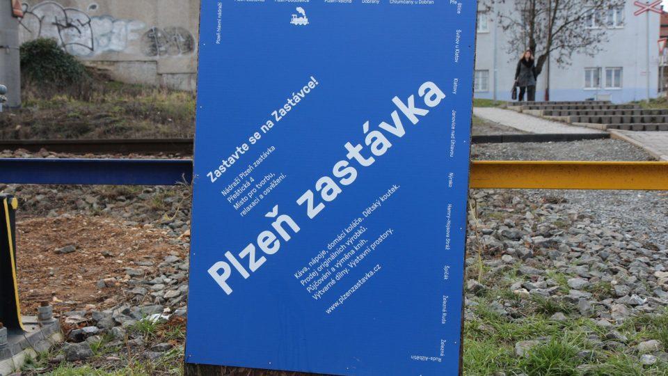 Kulturně komunitní centrum Plzeň zastávka