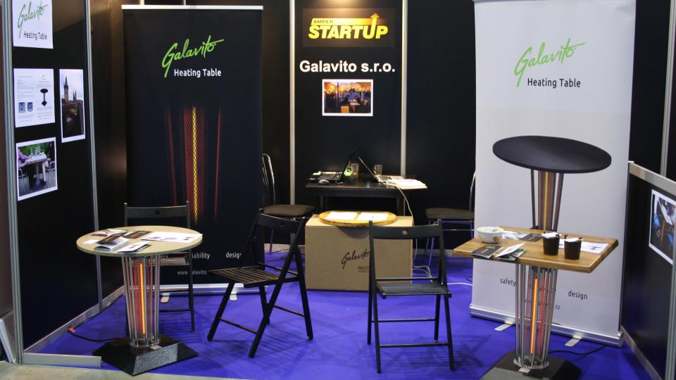 hřející stolek - heating table- Galavito