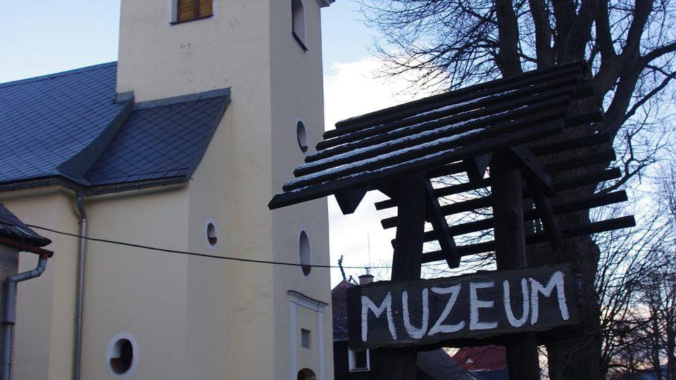 Muzeum je nepřehlédnutelné
