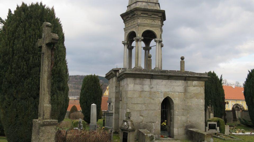 Dnes je Boží hrob součástí votického hřbitova