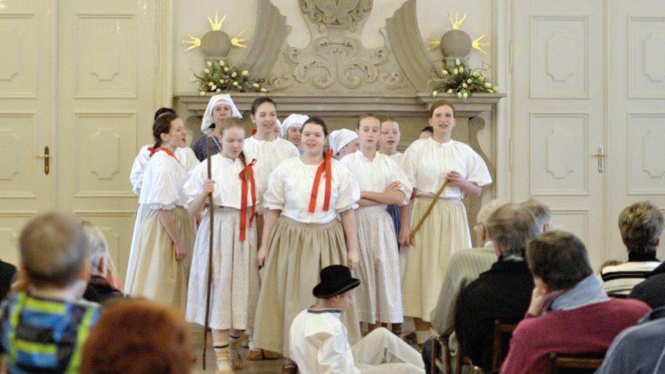 Dětský folklorní soubor Ondrášek z Frýdku-Místku