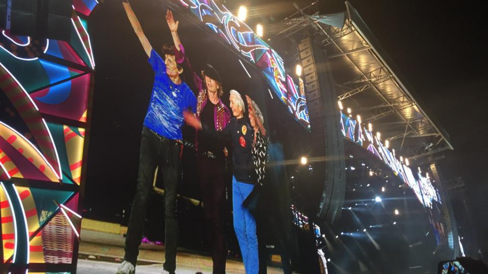 Koncert rockové kapely Rolling Stones v Havaně