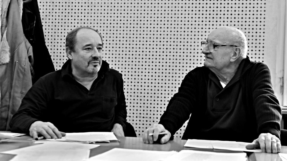 Natáčení hry William Shakespeare: Sen noci svatojánské (Viktor Preiss, Josef Somr)