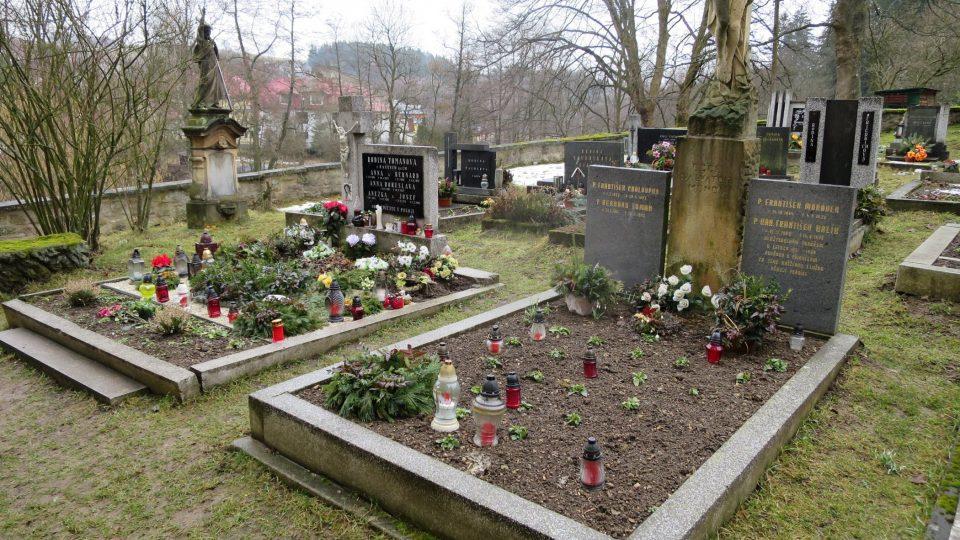 Hroby stigmatizované Anny Tomanové a někdejšího faráře Františka Chaloupky