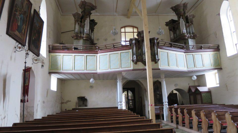 Od roku 2000 kostel prochází postupně opravou
