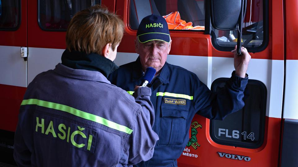 Hasič Rudolf Vágner získal nejvyšší hasičské ocenění Zasloužilý hasič