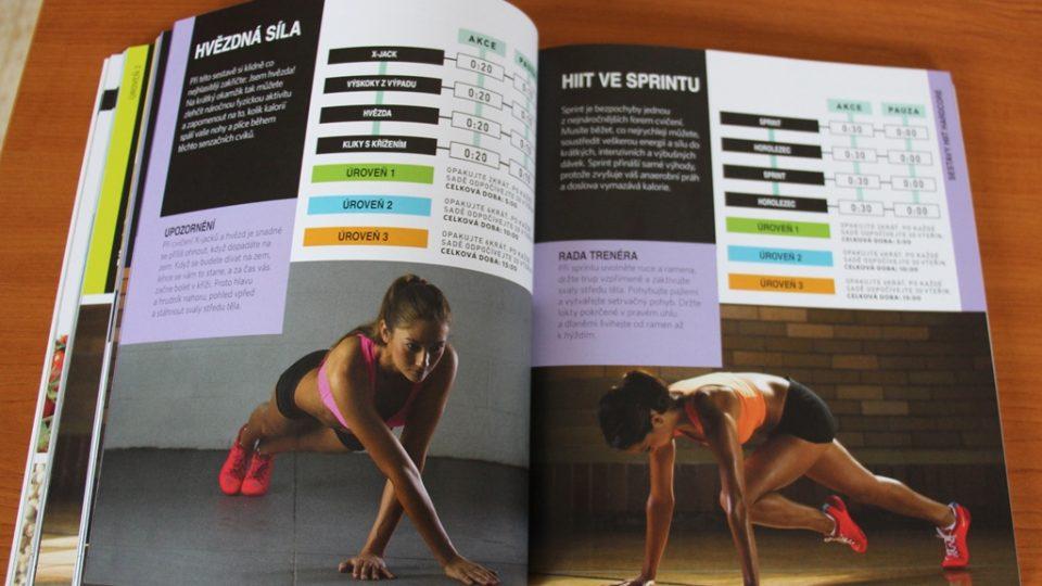 Kniha Intenzivní intervalový trénink pro ženy Seana Bartrama