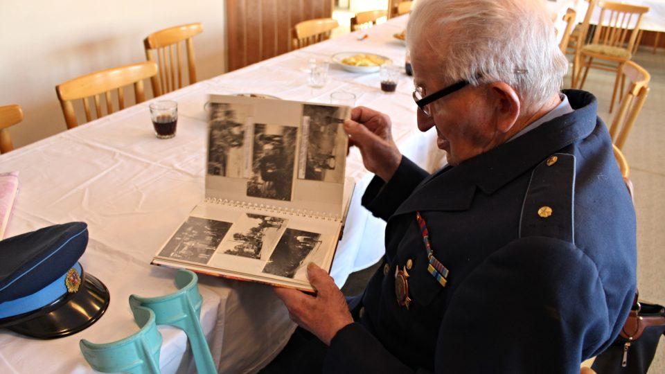 Zasloužilý hasič František Hrabal - nejstarší hasič kraje