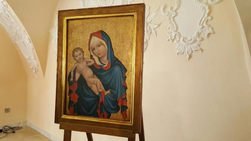 Obraz Zlatokorunské madony se vrací do kláštera ve Zlaté Koruně