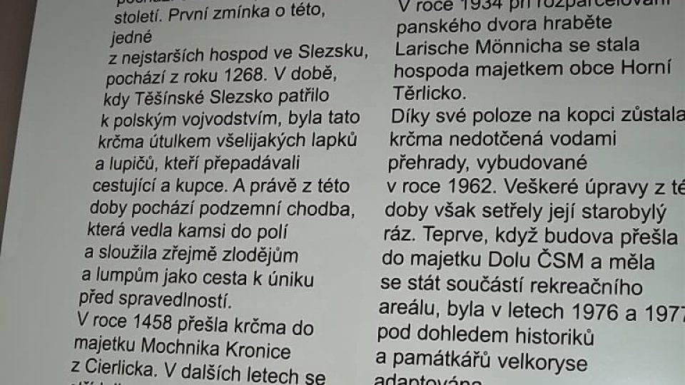 Co o Jaškovské krčmě píše kronikář