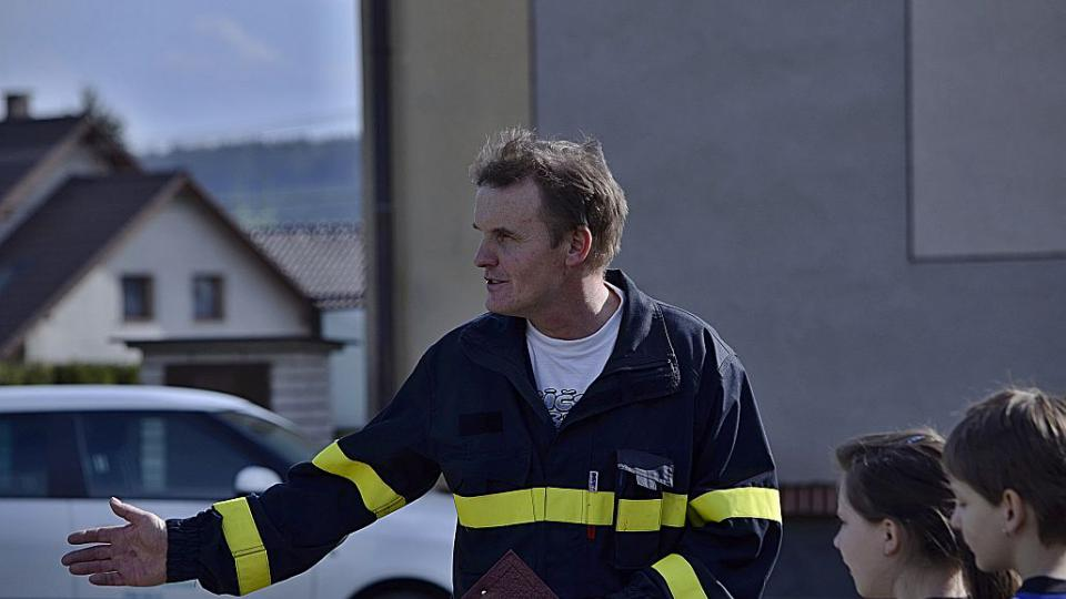 SDH Rohoznice - Ladislav Dufek, velitel SDH Rohoznice
