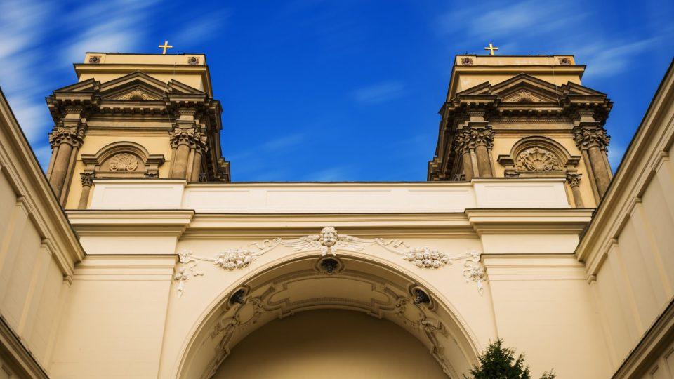 Dietrichsteinská hrobka vznikla přestavbou někdejšího kostela