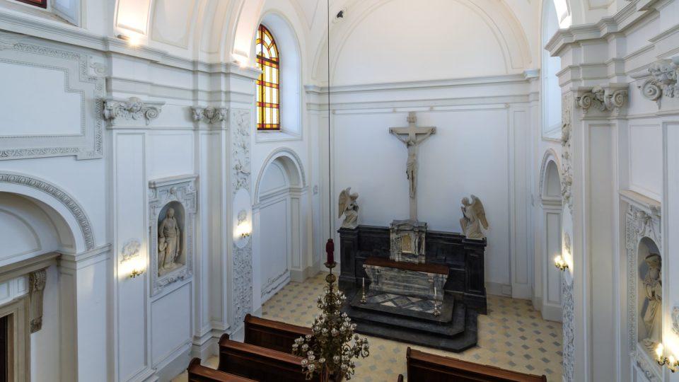 V kostele se konají bohoslužby i koncerty duchovní hudby