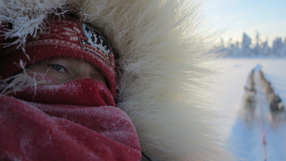 Musherské selfie odvážné Jany Henychové a jejího spřežení