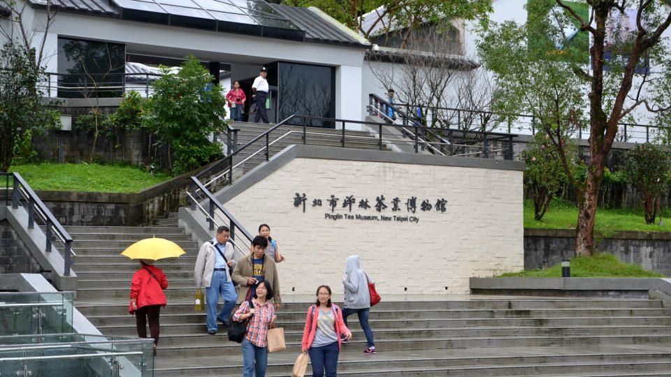 Muzeum čaje na Tchaj-wanu