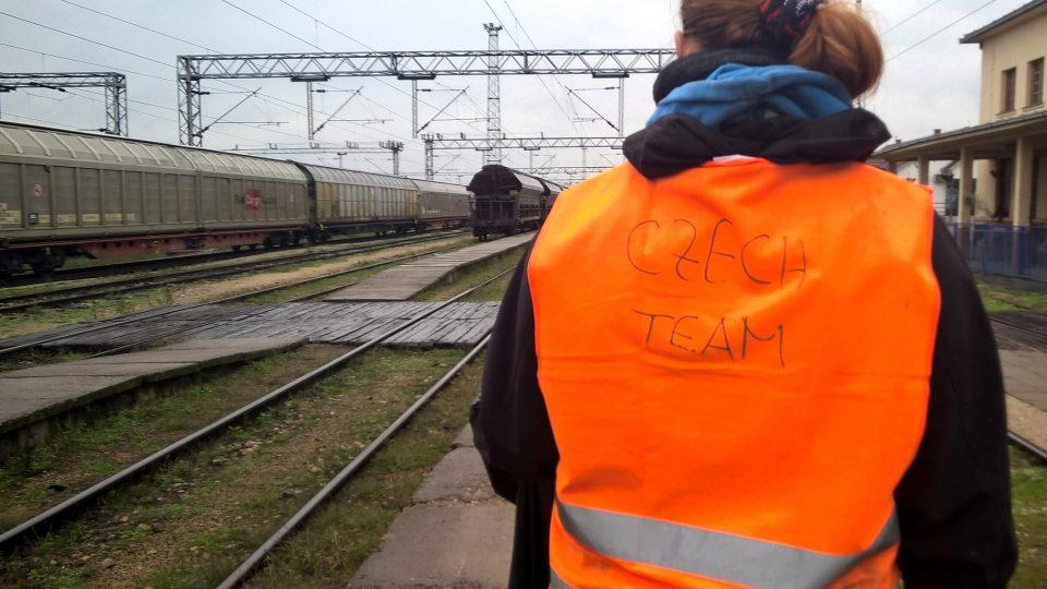 Na místě pomáhali hlavně dobrovolníci z Czech Teamu