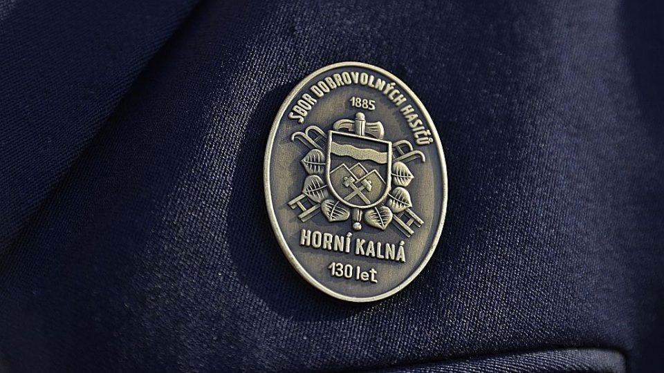 SDH Horní Kalná - odznak
