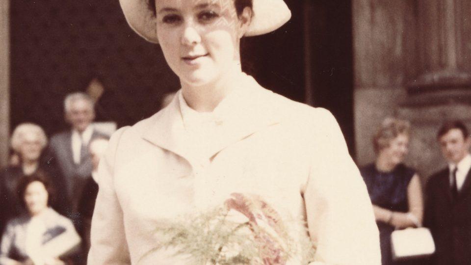 2. svatba Evy Benešové v roce 1970