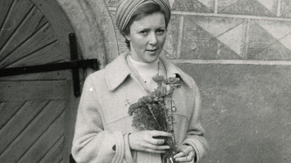 3. svatba Evy Benešové v roce 1980
