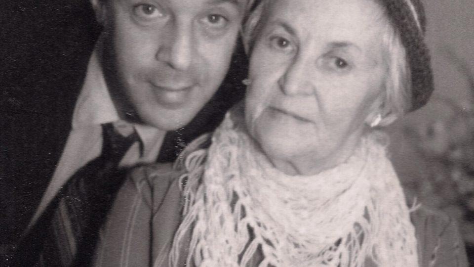 Bratr a matka Evy Benešové