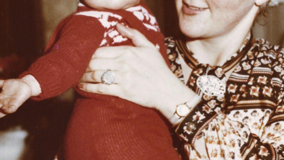 Eva Benešová s dcerou Hanou