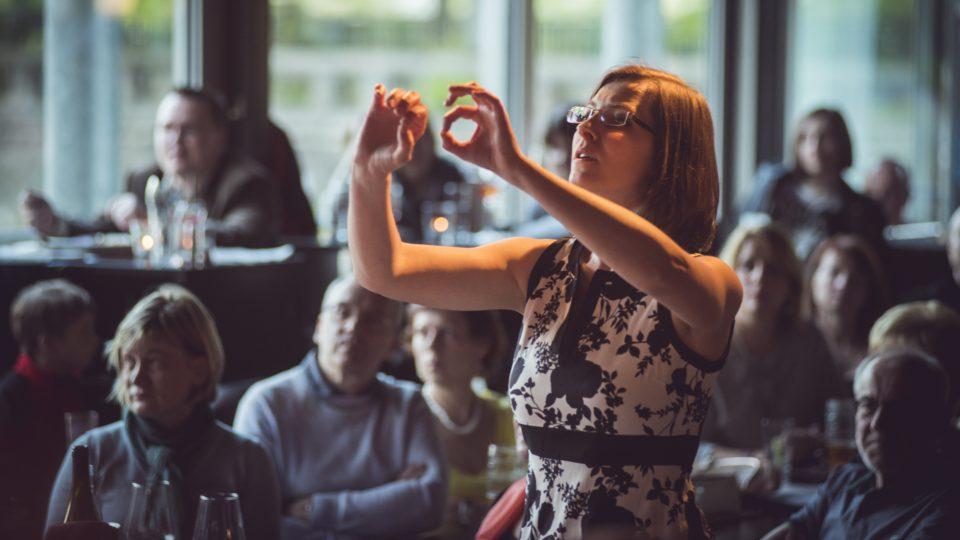 Concept Art Orchestra - Skladatelská soutěž Karla Krautgartnera - Mezinárodní den jazzu 2016 (Jazz Dock) - Štěpánka Balcarová