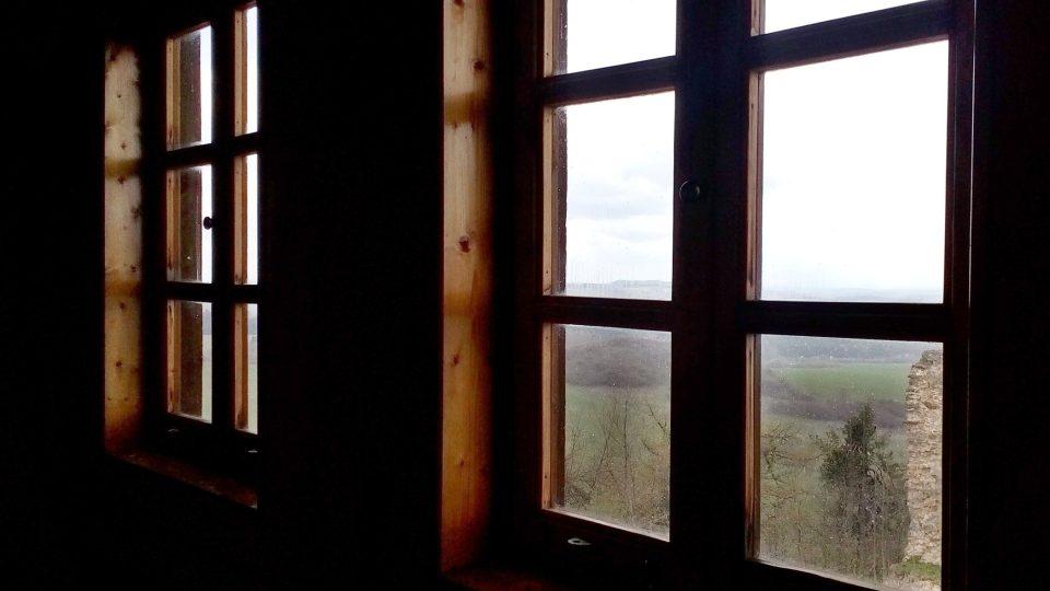 U každého okna je popis, co vidíte pod sebou