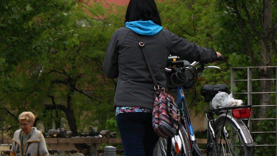 Mnozí obyvatelé Lublaně jezdí do práce na kole. A populární je tu i bike sharing