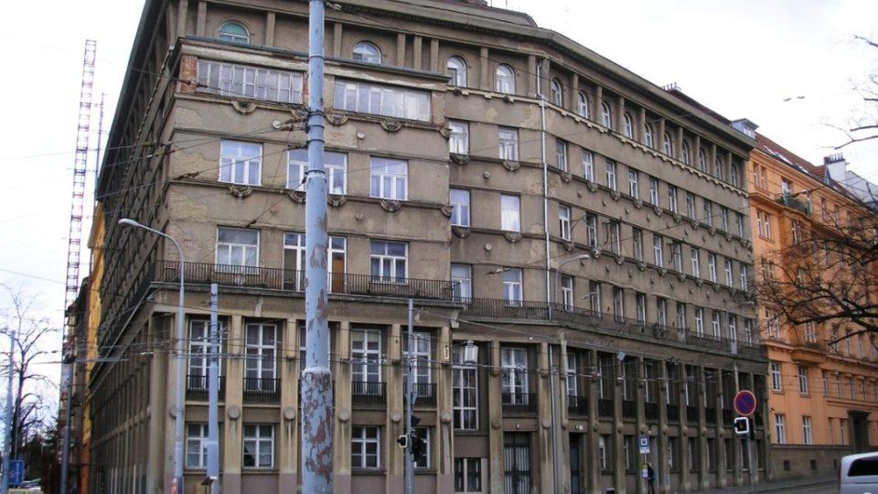 Brno, Nerudova 14. Dům, před kterým došlo k atentátu