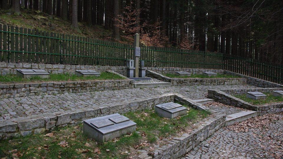 Hřbitov obětí tábora v Borku