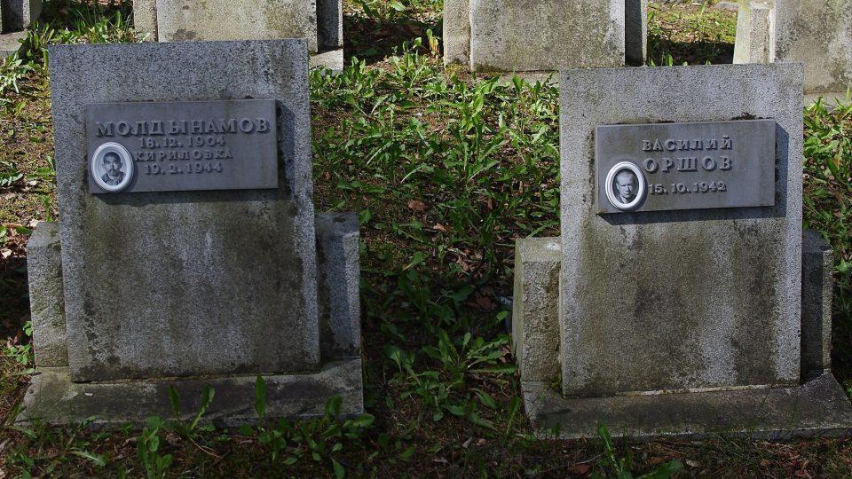 Na lesním hřbitově u bývalého bábora v Rudohoří se badatelům podařilo objevit podobenky některých zajatců, kteří zde zahynuli