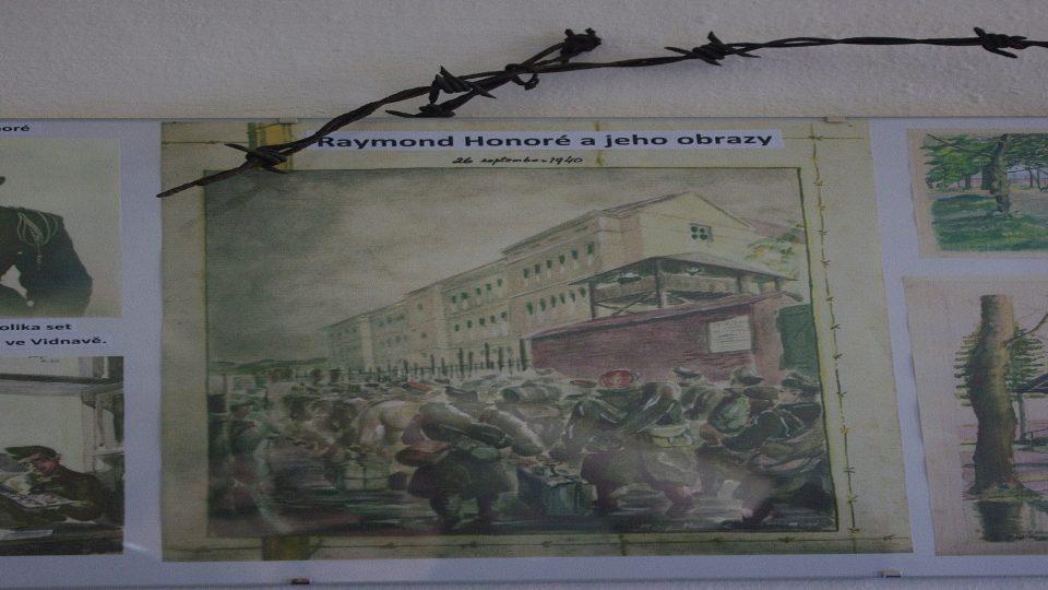 Obrazy někdejšího vězně představuje muzeum v České Vsi