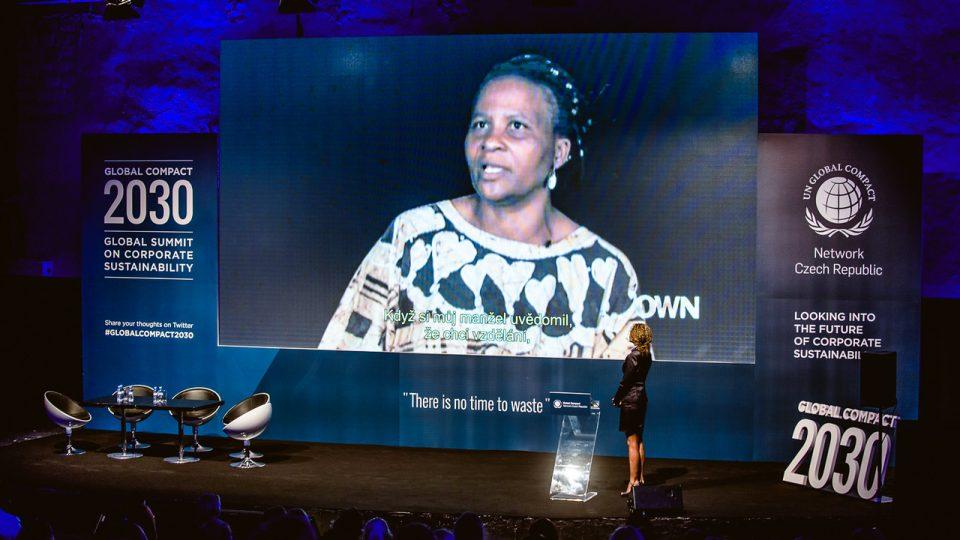 Summit GLOBAL COMPACT 2030  se konal 4. května 2016 ve Veletržním paláci v Praze, sešlo se na 300 klíčových hráčů ovlivňujících budoucnost udržitelného podnikání z celého světa.