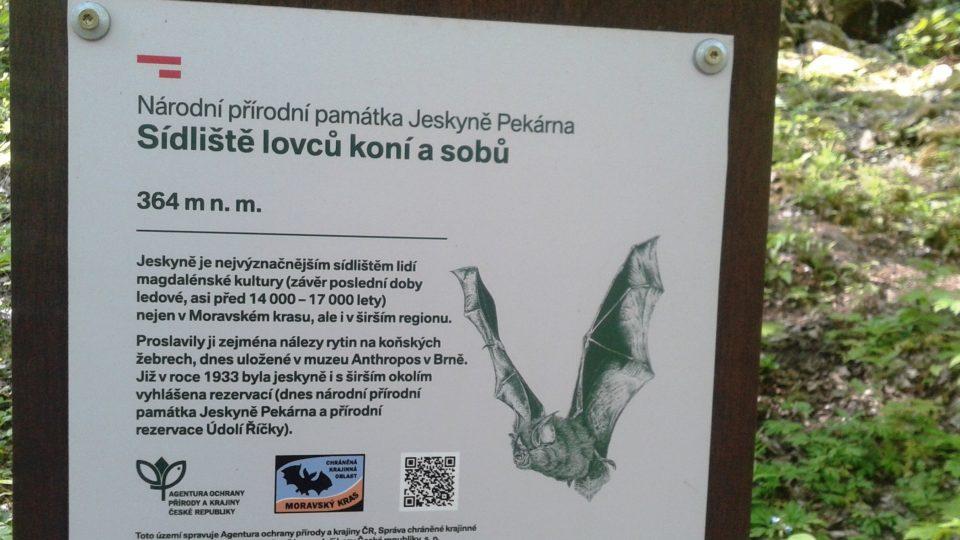 Jeskyně leží ve výšce 364 metrů nad mořem
