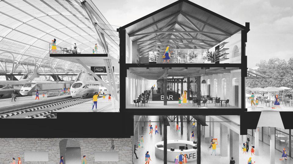 3.místo: Atelier M1 architekti, Malá Amerika