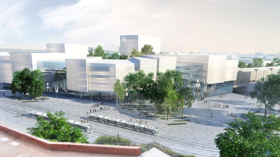 Finalista: Erick van Egeraat, hlavní budova nádraží pod Petrovem